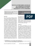 Estudio de Las Propiedaes Mecanicas de La Madera de Palosangre
