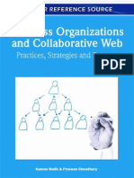 Business Organizations and Collaborative Web