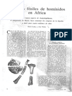 Leakey Walker- Antiguos Fosiles de Hominidos en Africa