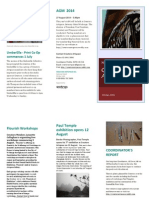 creators newsletter winter 2014