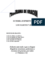 Programa de Guerra Espiritual 2005