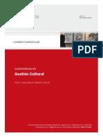 Diseño Curric Gestion Cultural