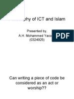 Philosophy of ICT & Islam