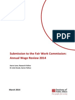 IPA Submission - Annual Wage Review - 2014 (2)