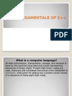 FUNDAMENTALS+OF+C++