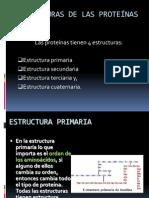 Estructura de Las Protenas