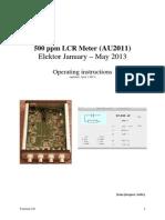 110758-W2-US LCR-Meter Operating Instructions En