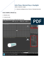 3d Max - Nuvens Com Particle Flow, Mental Ray e Daylight