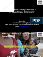 Sexuality, Poverty and Food Security