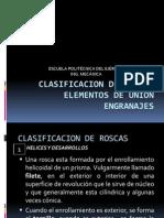 Serie Tecnologica Del Metal 6 - Clasificacion de Rosca, Engranajes, Elementos de Union