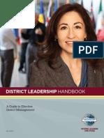 District Leadership Handbook