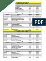 Calendário de Provas 2011.2