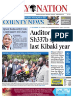 Daily Nation July 18th 2014