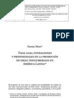 Think tanks, fundaciones y profesionales en la promoción de ideas..pdf