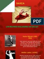 bailarinesenlahistoria-121127145127-phpapp01