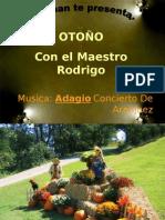 Otoño con el Maestro Rodrigo
