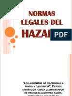Normas Legales Del Hazard