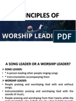 Principles of Worship Leading