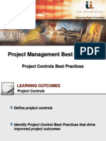 IPA Institute Project Controls Best Practices Webinar