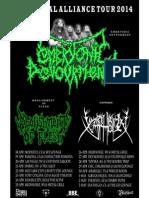 Brutal Alliance Tour 2014