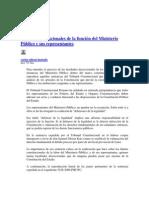 Limites Constitucionales de La Funcion Del MP