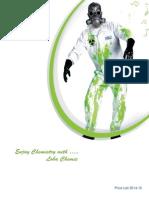 Loba Chemie Price List 2014-15