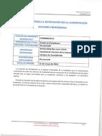 Informe Calidad Provisional Grado en Periodismo