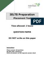 06 Navitas English Pretest - IELTS