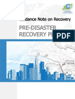 11 Pre Disaster Recovery Planning Framework