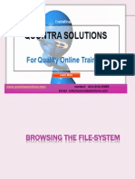 Browsing the file system-linux by Quontra Solutions