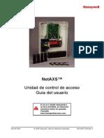 Guía Del Usuario NetAXS (800-04410-A)-2