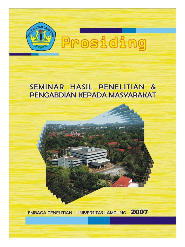 Prosiding Unila 2007 Buku 1