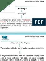 AULA FISIOLOGIA DO ENVELHECIMENTO-POS GERONTOLOGIA
