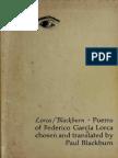 Lorca, Federico Garcia - Lorca-Blackburn