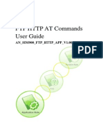 An Sim900 Ftp Http at Commands User Guide Beta v1.00