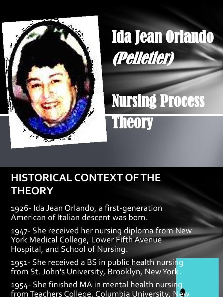 tfn ppt ida jean orlando pptx | Nursing | Theory