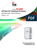 GL200 @Tracker Air Interface Protocol_V1.02