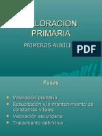 VALORACION PRIMARIA