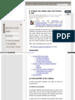 Linuxfr Org News Integrer Des Videos Dans Des Fichiers PDF
