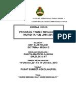 Kertas Kerja Program Teknik Menjawab 2013