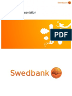 Swedbank's Corporate Presentation 30 June 2014