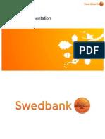Swedbanks företagspresentation 30 juni 2014