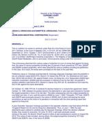 Crisologo vs. JEWM Agro G.R. No. 196894 March 3, 2014