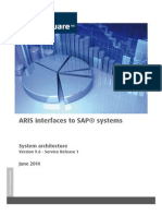 System Architecture of SAP Interfaces