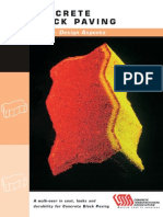 Concrete Block Paving - Book 2 - Design Aspects; Fourth Edition