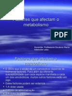 5º-Factores que afectam o metabolismo