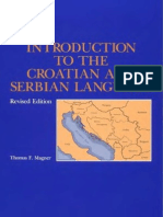 Introduction to the Croatian, by Thomas Magner