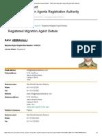 Registered Migration Agent Details - Office of the Migration Agents Registration Authority Patiala1