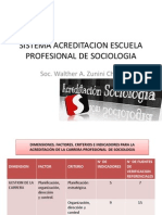 Sistema Acreditacion Escuela Profesional de Sociologia