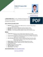 Sachin's CV / Resume